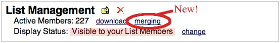 Merging Link